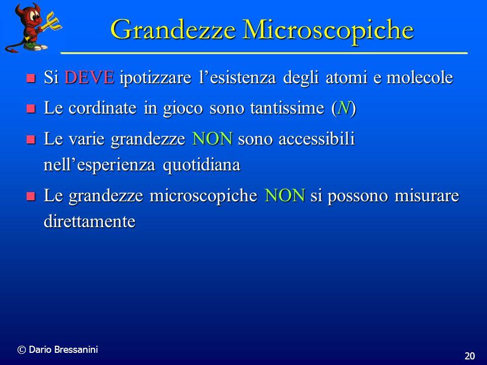 Grandezze Microscopiche
