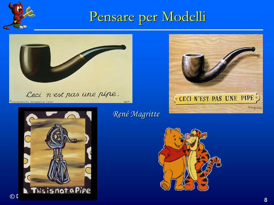 Pensare per Modelli René Magritte © Dario Bressanini