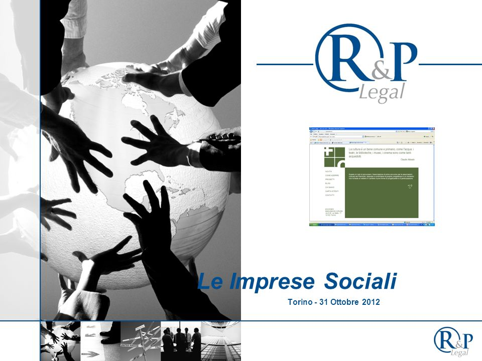Le Imprese Sociali Torino - 31 Ottobre 2012