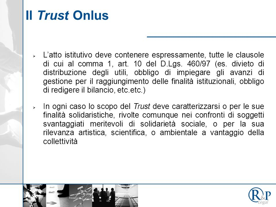 Il Trust Onlus