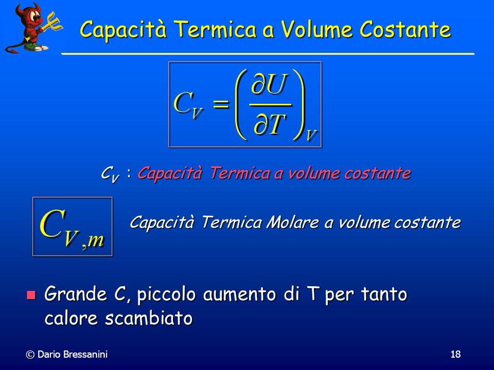 Capacità Termica a Volume Costante