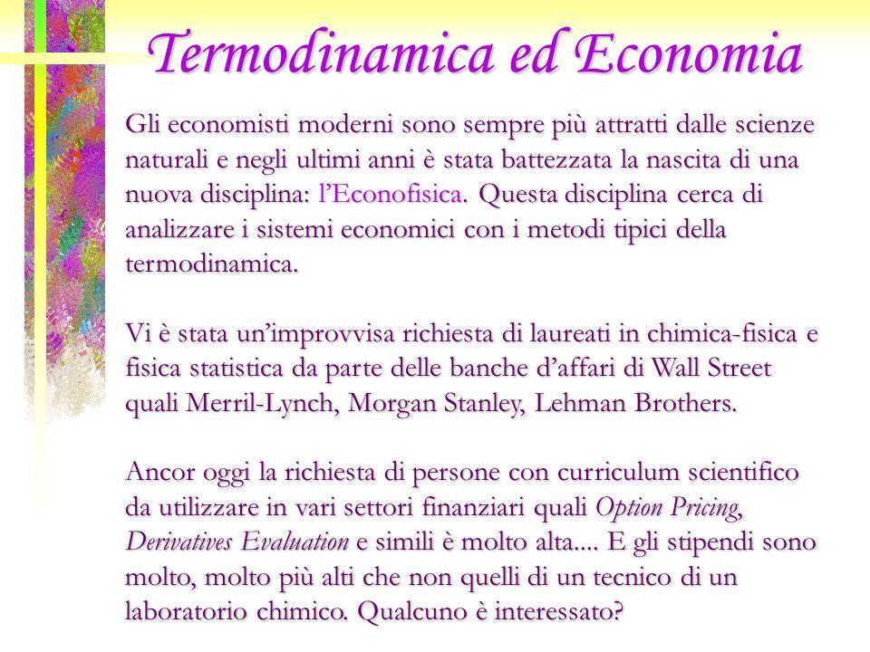 Termodinamica ed Economia