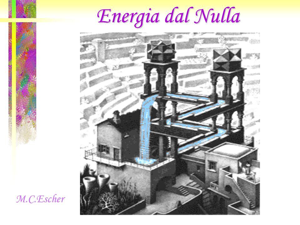 Energia dal Nulla M.C.Escher