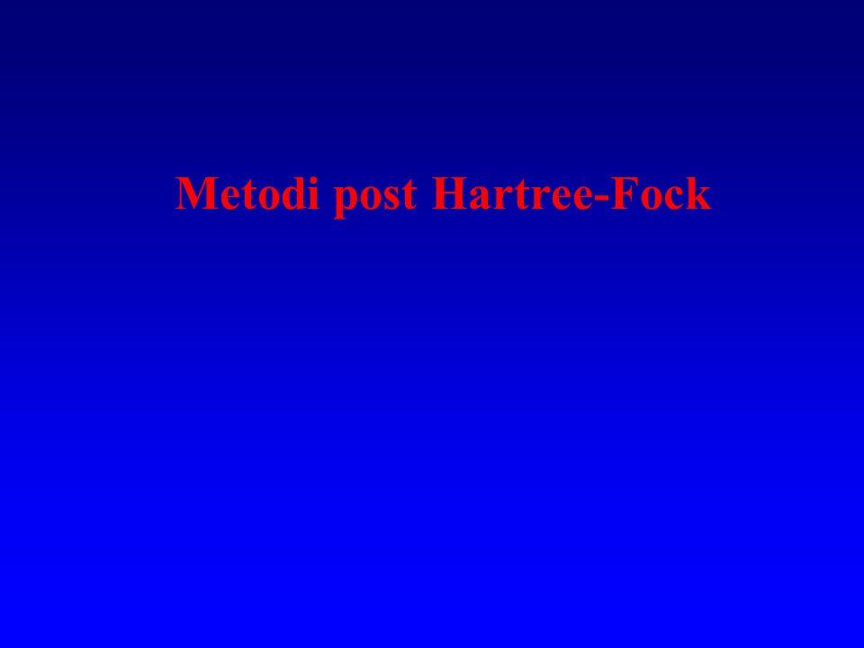 Metodi post Hartree-Fock