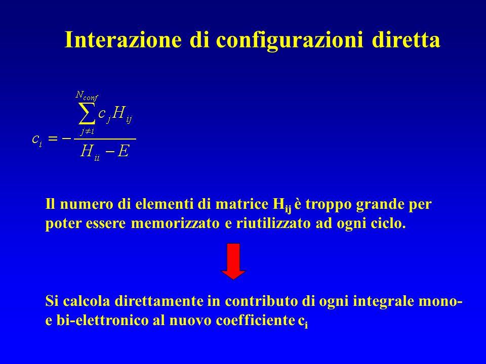 Interazione di configurazioni diretta