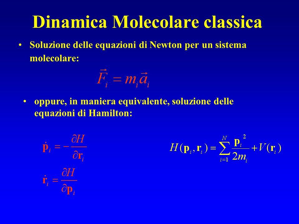 Dinamica Molecolare classica