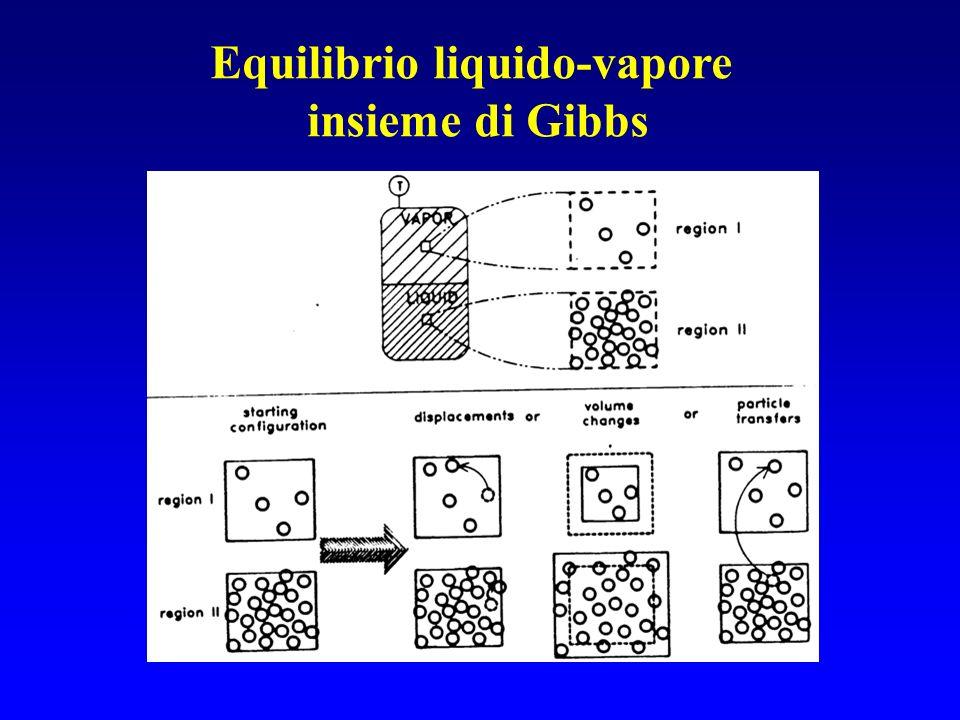 Equilibrio liquido-vapore