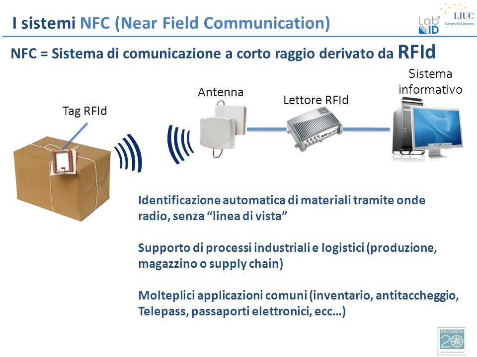 ) ) I sistemi NFC (Near Field Communication)
