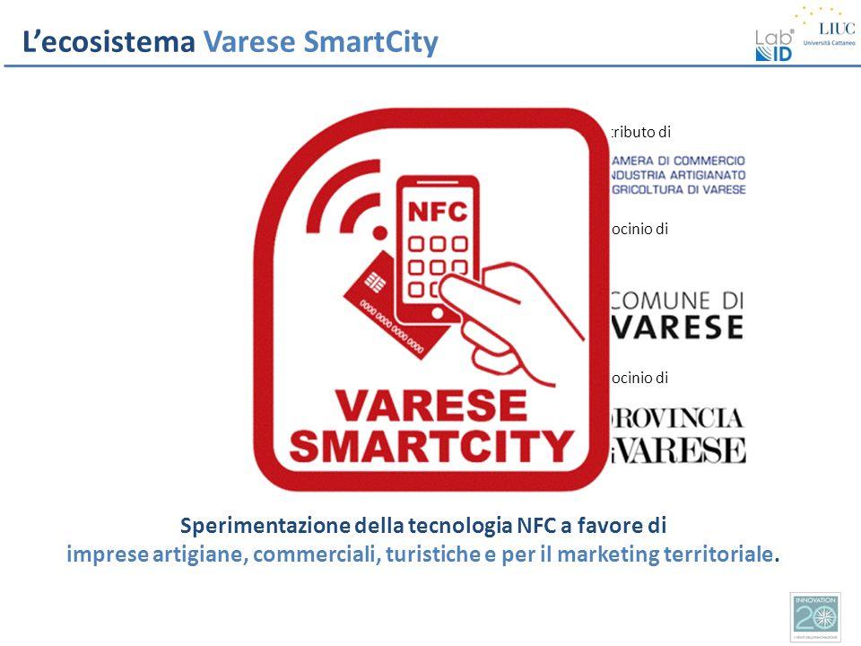 Sperimentazione della tecnologia NFC a favore di