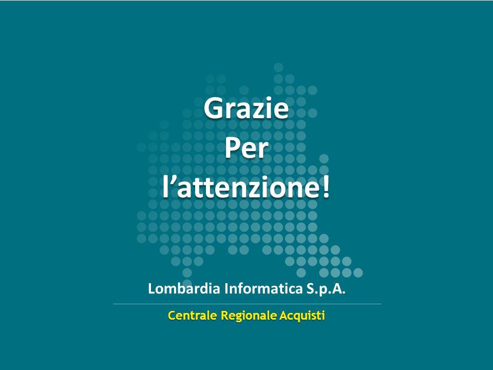 Centrale Regionale Acquisti Lombardia Informatica S.p.A.