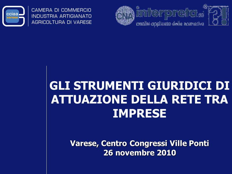 Varese, Centro Congressi Ville Ponti