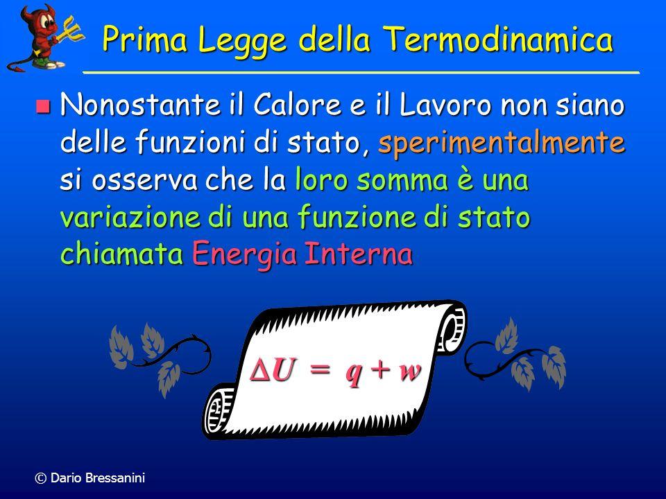 Prima Legge della Termodinamica
