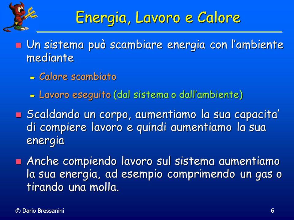 Energia, Lavoro e Calore