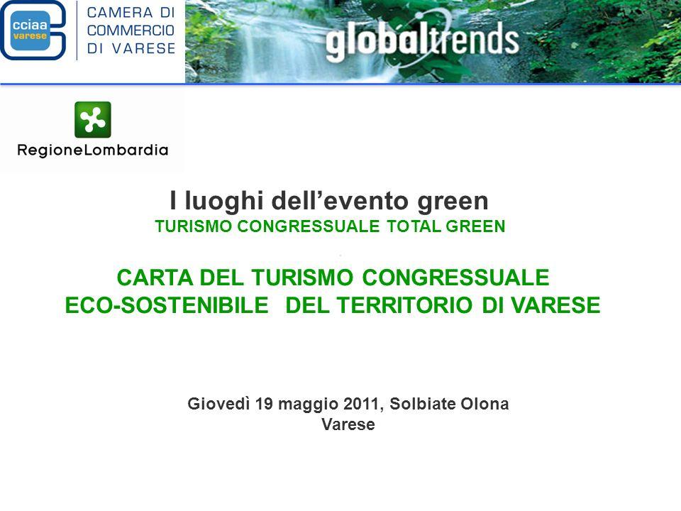 I luoghi dell'evento green