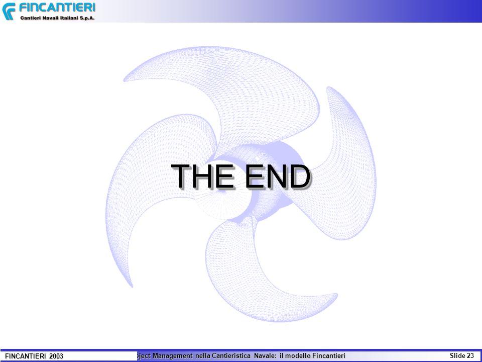 THE END FINCANTIERI 2003