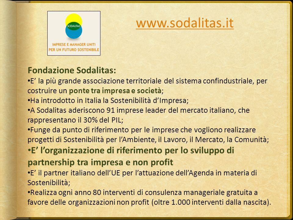 www.sodalitas.it Fondazione Sodalitas: