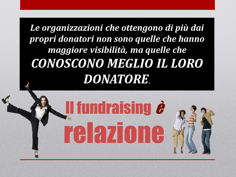 Il fundraising è relazione