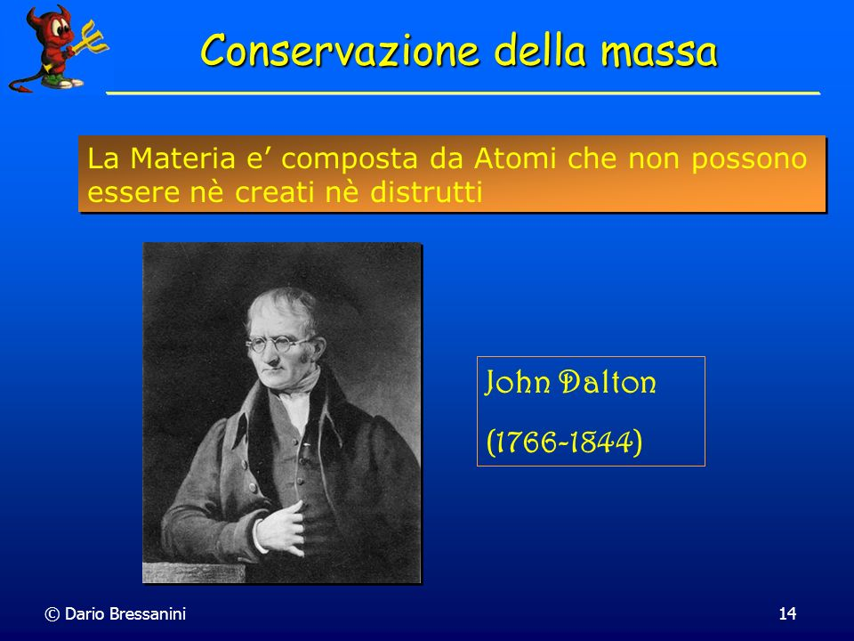 Conservazione della massa