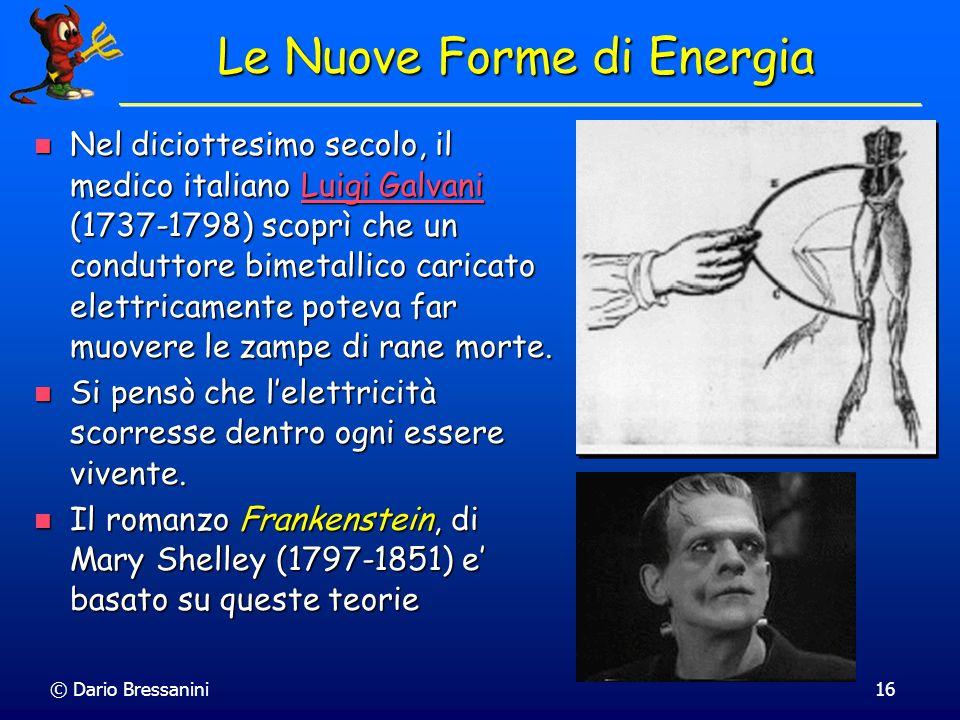 Le Nuove Forme di Energia