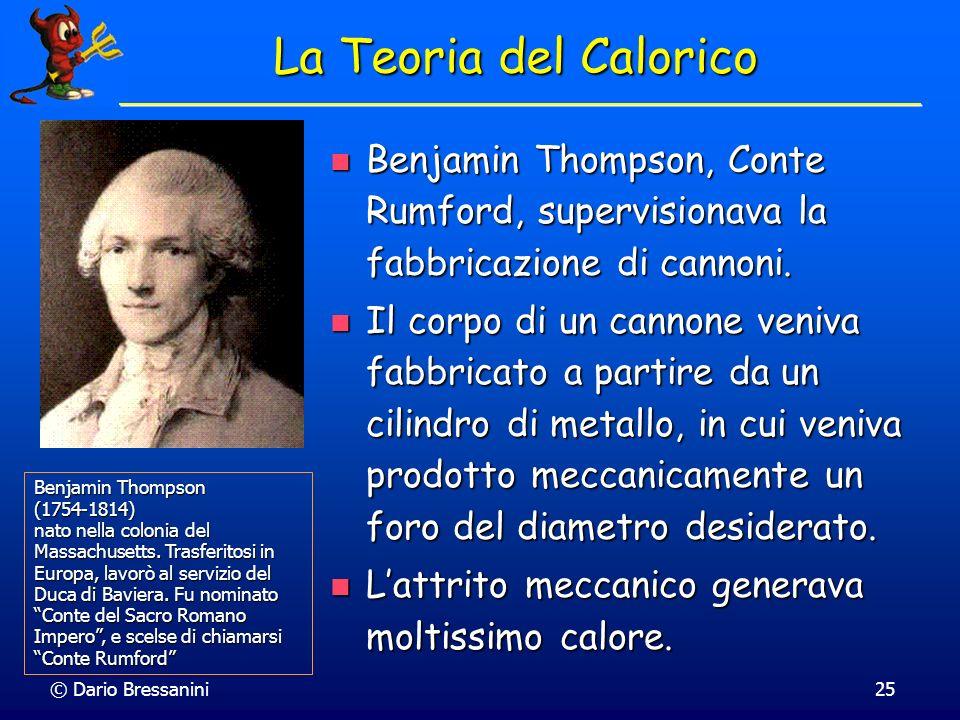 La Teoria del Calorico