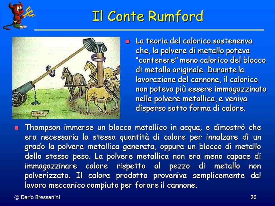 Il Conte Rumford