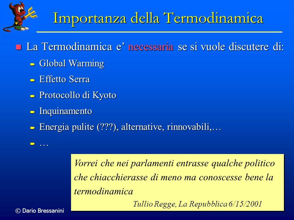 Importanza della Termodinamica