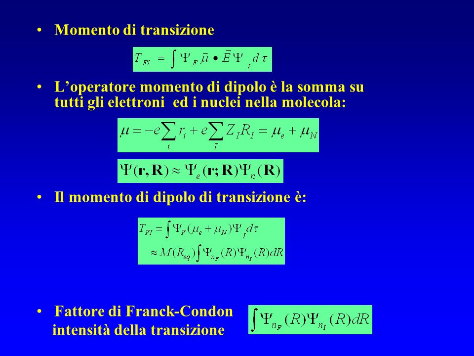Momento di transizione