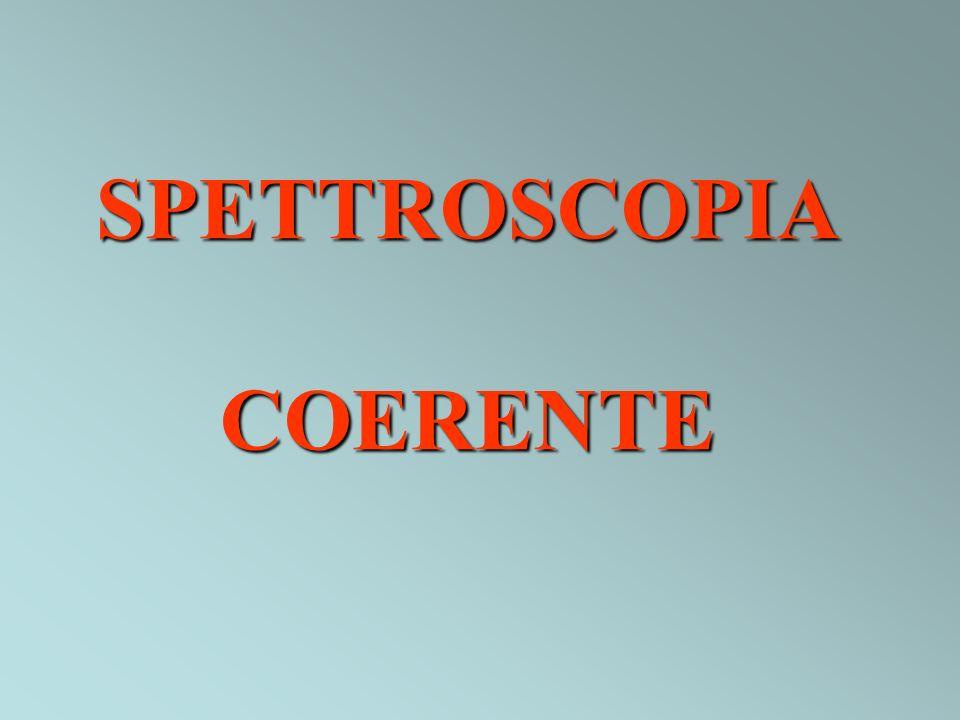 SPETTROSCOPIA COERENTE