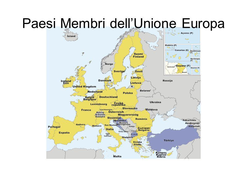 Paesi Membri dell'Unione Europa
