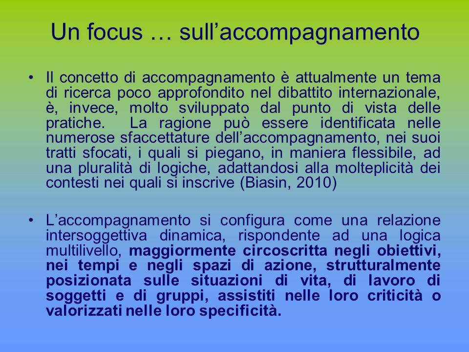 Un focus … sull'accompagnamento