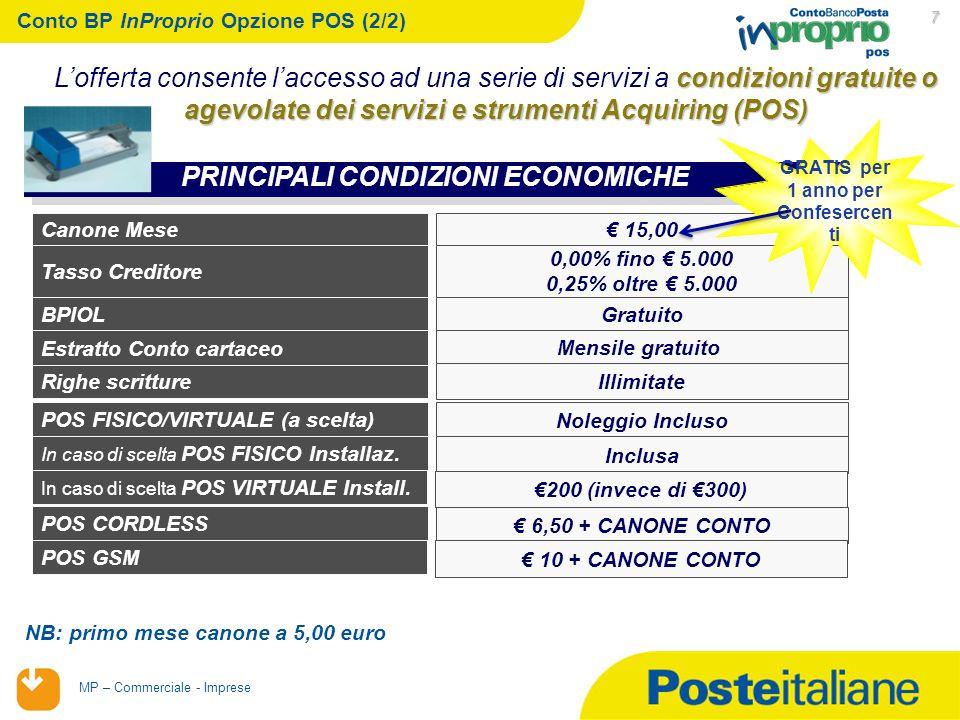 Conto BP InProprio Opzione POS (2/2)
