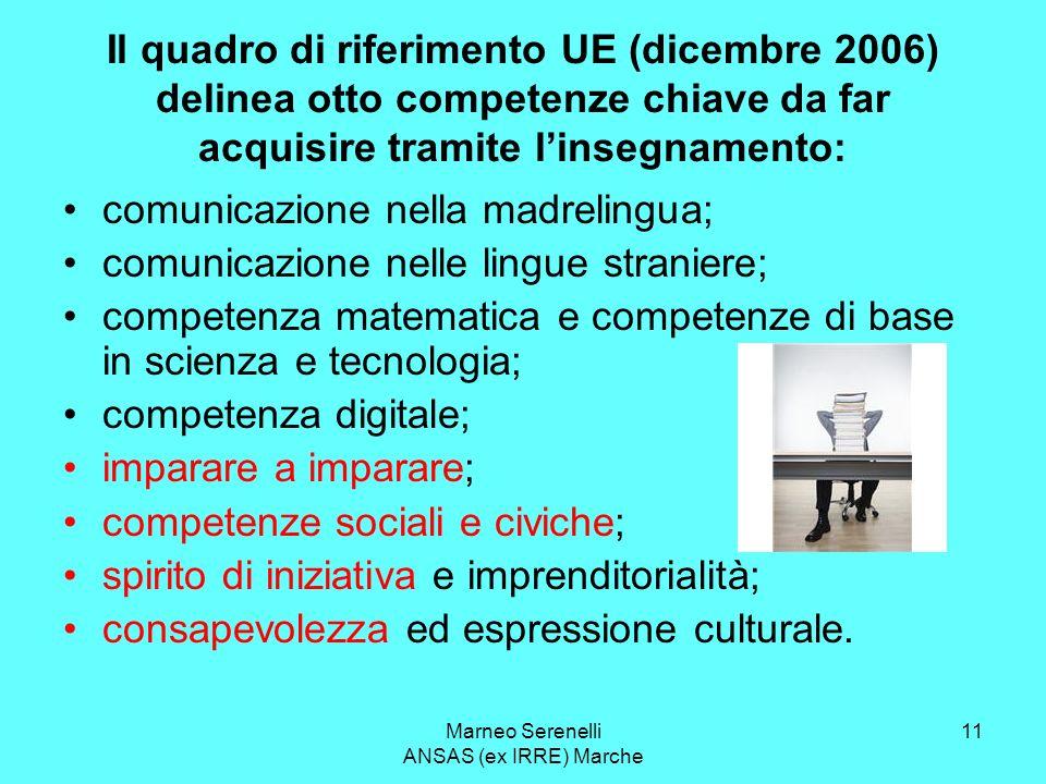 Marneo Serenelli ANSAS (ex IRRE) Marche