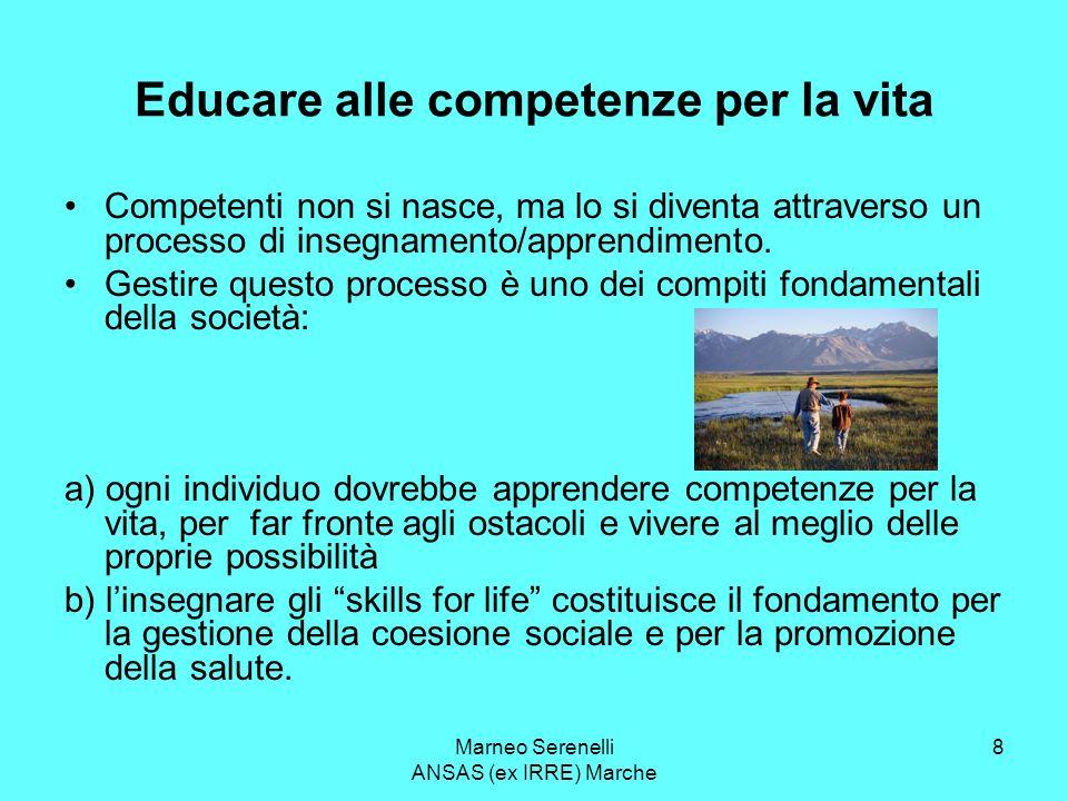 Educare alle competenze per la vita