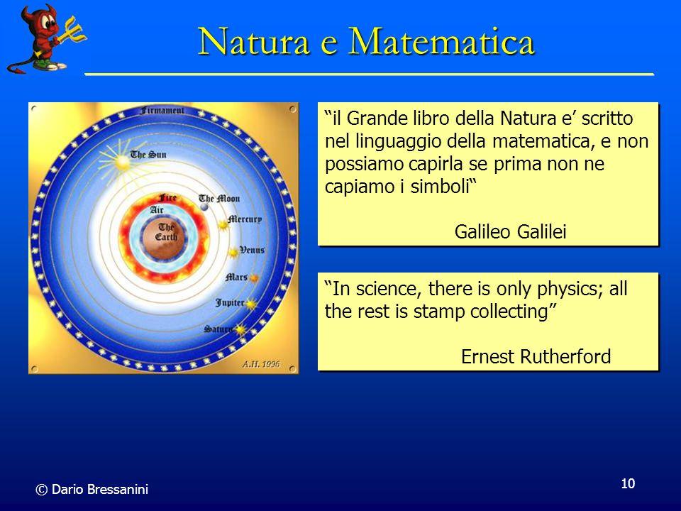 Natura e Matematica