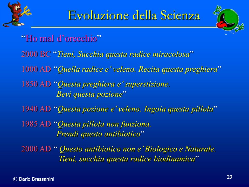 Evoluzione della Scienza