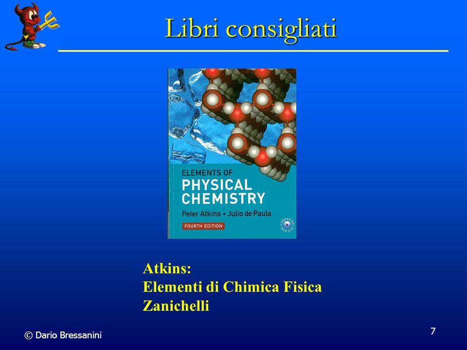 Libri consigliati Atkins: Elementi di Chimica Fisica Zanichelli