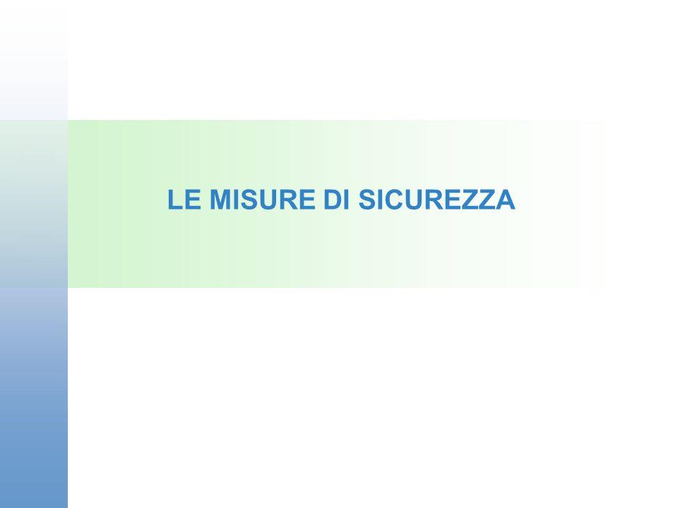 LE MISURE DI SICUREZZA