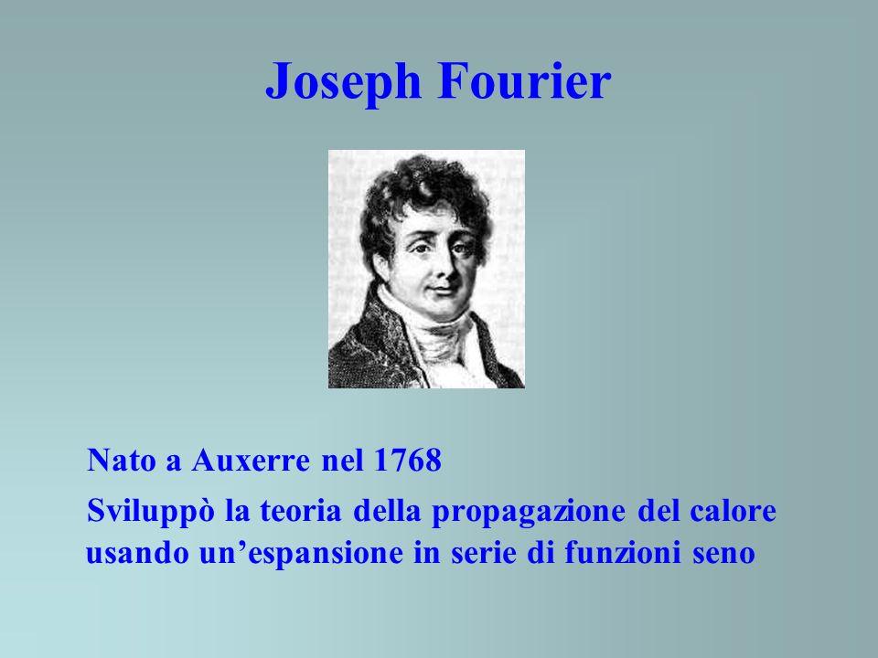 Joseph Fourier Nato a Auxerre nel 1768