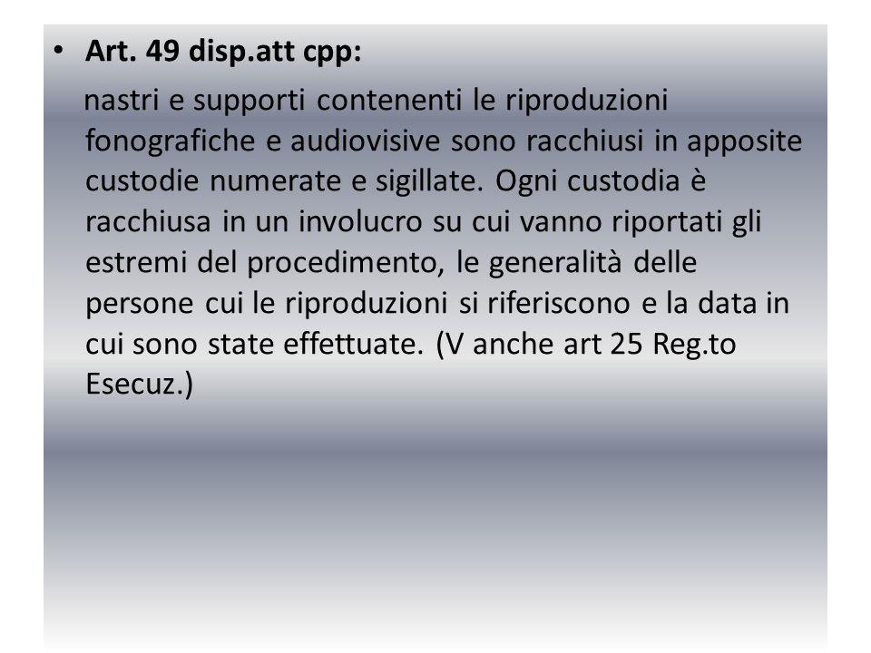 Art. 49 disp.att cpp: