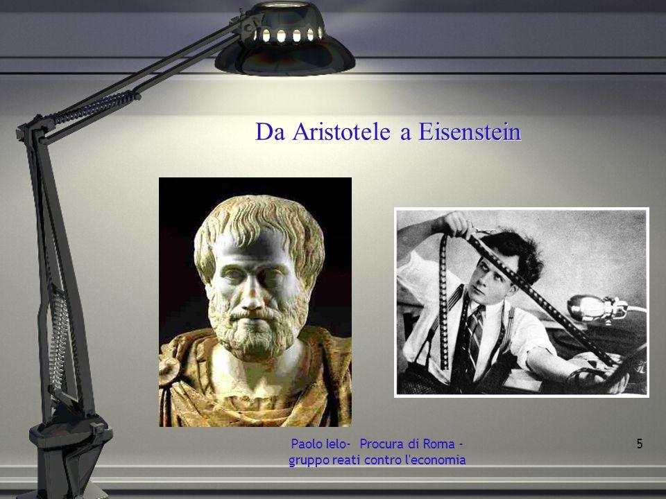 Da Aristotele a Eisenstein