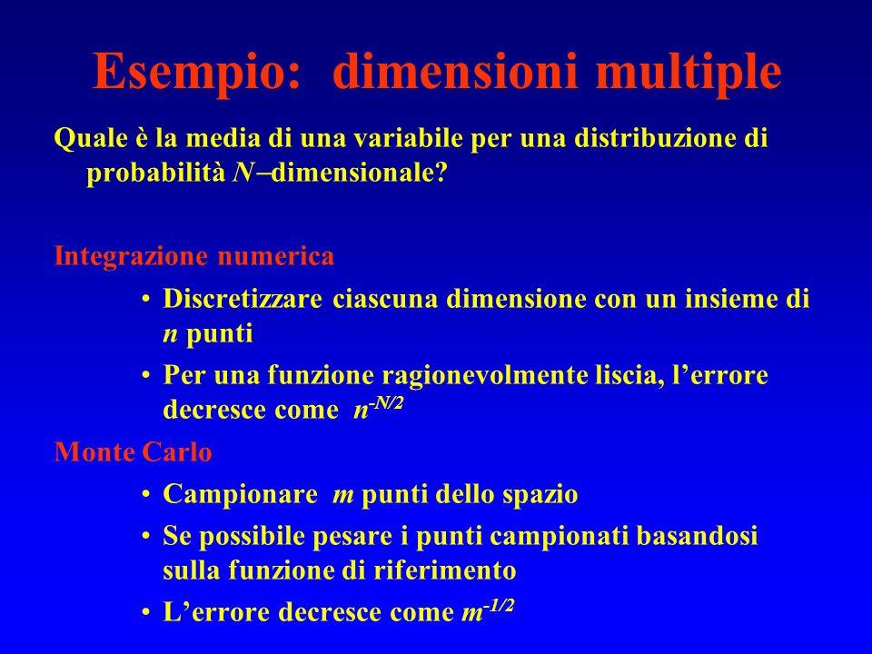 Esempio: dimensioni multiple