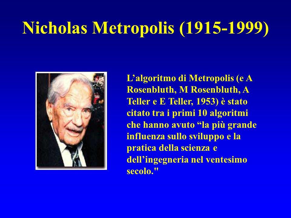 Nicholas Metropolis (1915-1999)