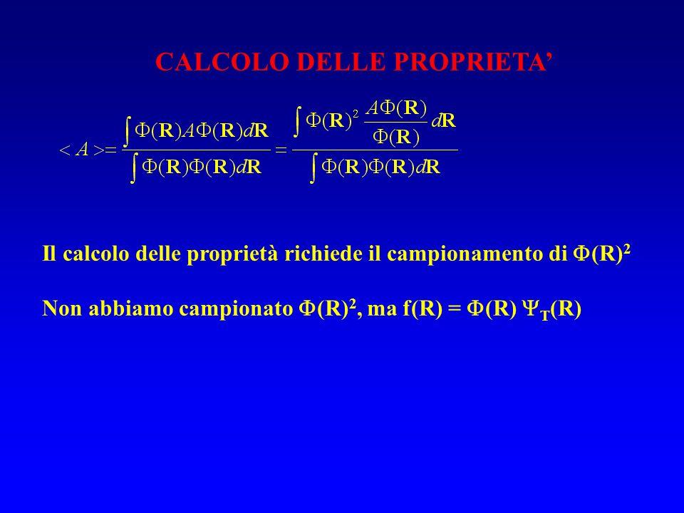 CALCOLO DELLE PROPRIETA'