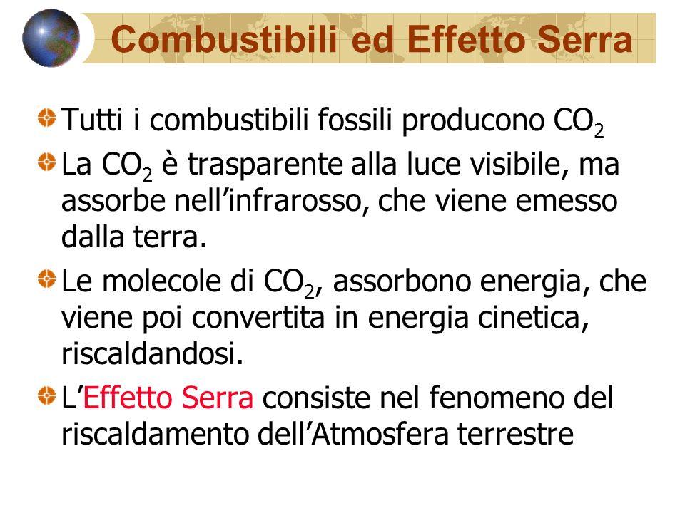 Combustibili ed Effetto Serra