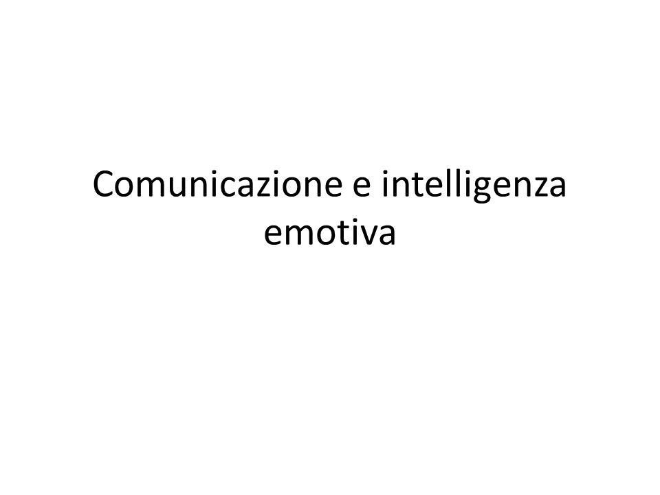 Comunicazione e intelligenza emotiva