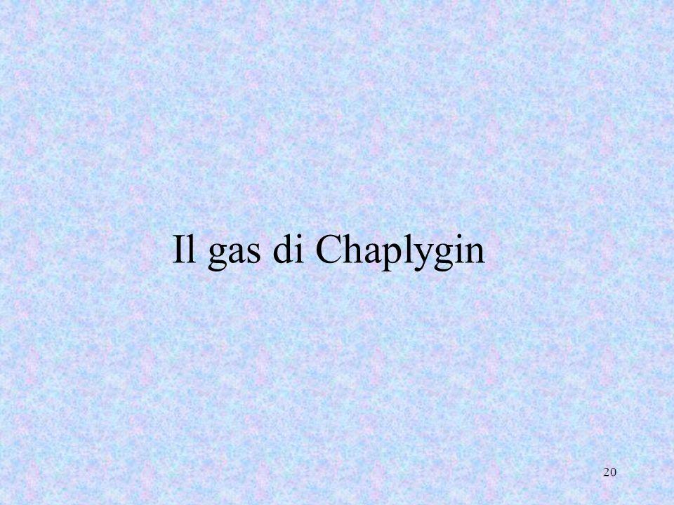 Il gas di Chaplygin
