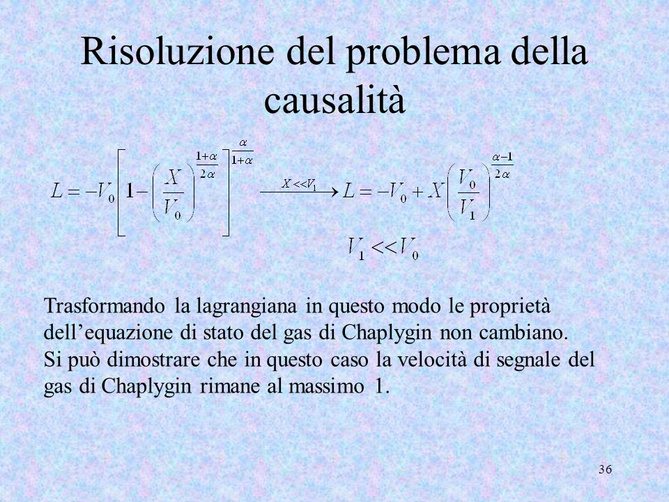 Risoluzione del problema della causalità