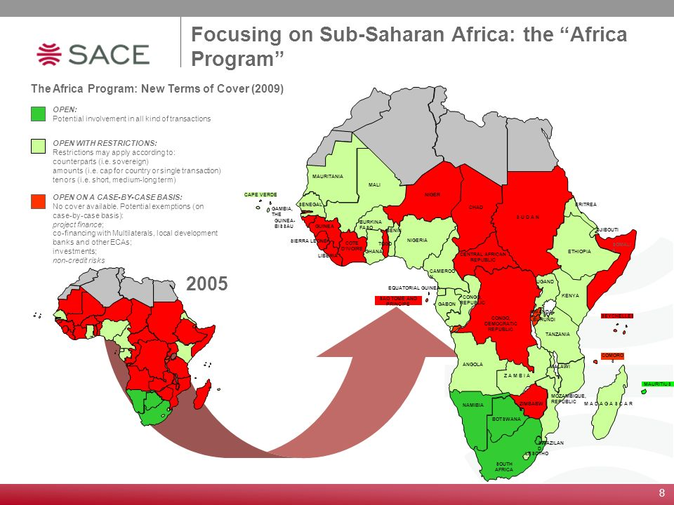 The Africa Program: New Terms of Cover (2009)