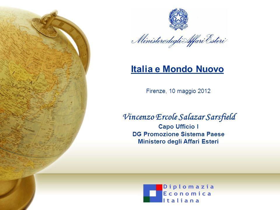 Italia e Mondo Nuovo Firenze, 10 maggio 2012