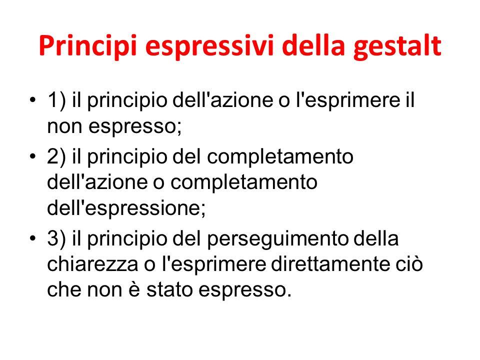 Principi espressivi della gestalt